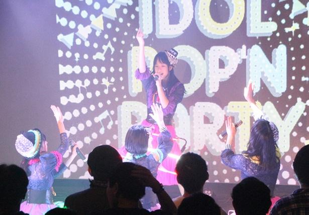 【写真を見る】キャンディzooナイトメアの新曲「UTAKATA」を初披露!
