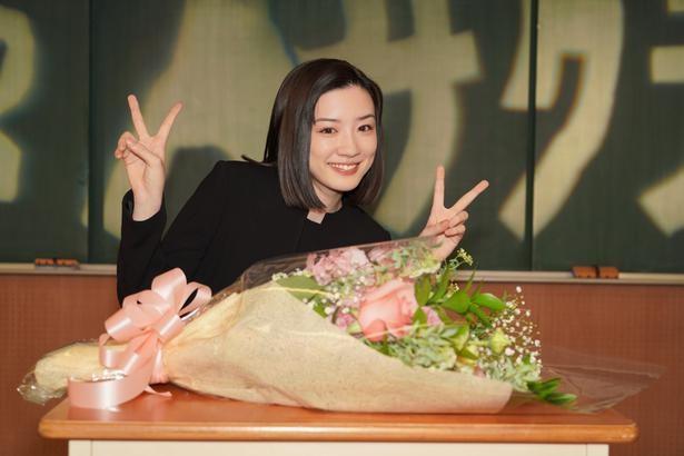 永野芽郁は、涙ながらにクランクアップをむかえていた