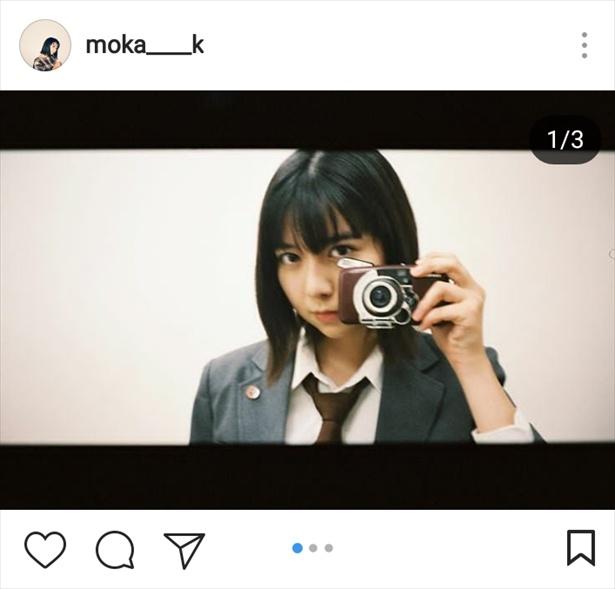 ※画像は上白石萌歌公式Instagram(moka____k)のスクリーンショットです
