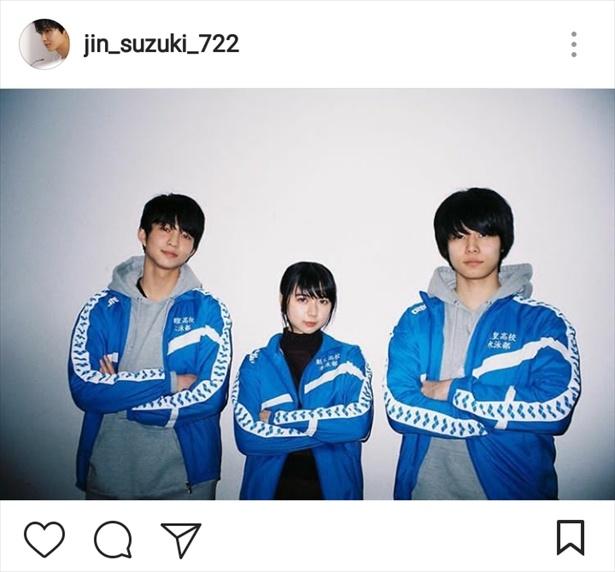 ※画像は鈴木仁公式Instagram(jin_suzuki_722)のスクリーンショットです