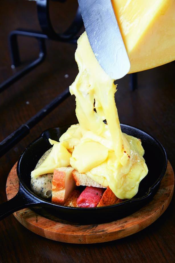 チーズ好き悶絶!ラクレット(MIXプレート、2030円)/dining room hamon