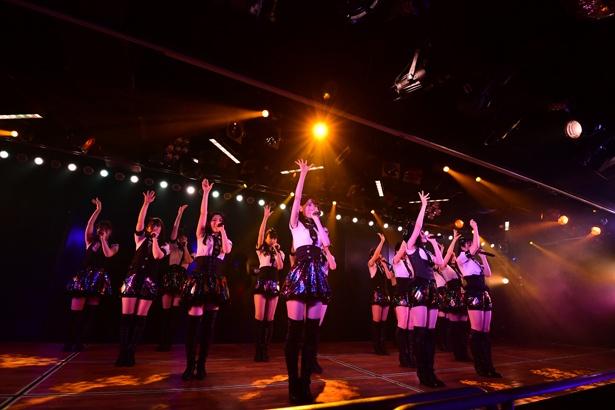 AKB48劇場でのチームB「シアターの女神」公演の様子(3)