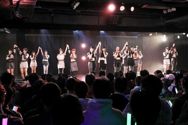 SKE48劇場でのチームS「重ねた足跡」公演の様子(2)