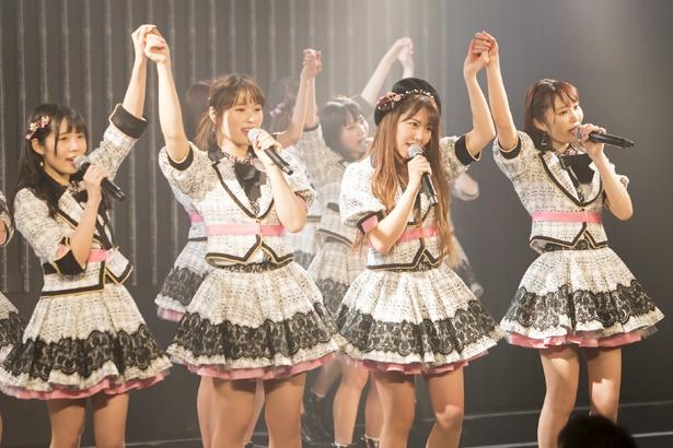 NMB48劇場でのチームM「誰かのために」公演の様子(2)