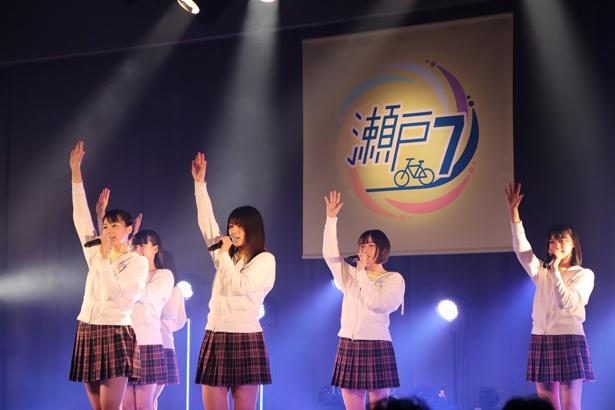 広島テレビホールでのSTU48公演の様子(1)
