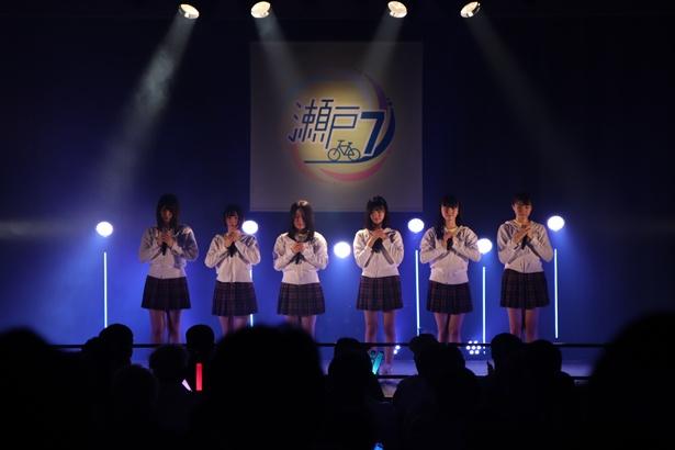 広島テレビホールでのSTU48公演の様子(2)