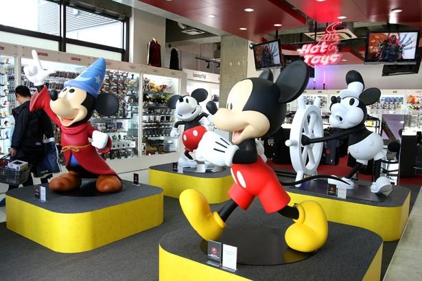 「ミッキーマウス90周年フェア by トイサピエンス」は4月7日(日)まで開催中