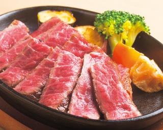 程よく脂がのった極上イチボを好みの焼き加減で堪能できるイチボステーキ (3000円、150g)/京都ステーキ 南大門