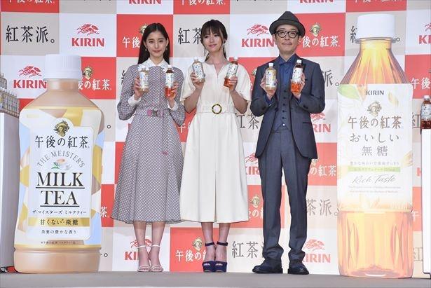 深田恭子、新木優子、リリー・フランキー