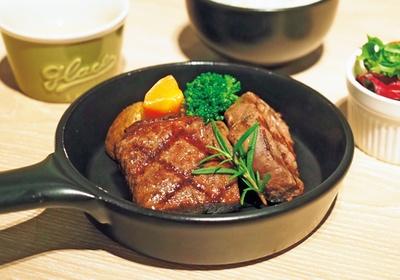 赤身肉好きを虜にする、牧草牛の最高級部位がお手軽に食べ比べできる牧草牛フィレ&サーロインランチ(1800円)/GOOD GOOD MEAT なんば店