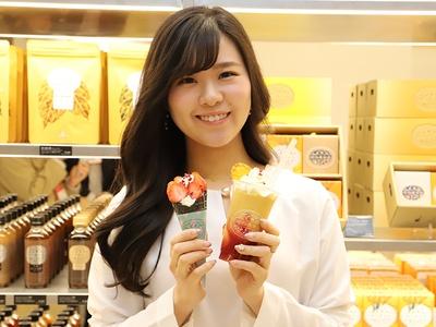 「堀内果実園」のショートクリームとミックスムージー