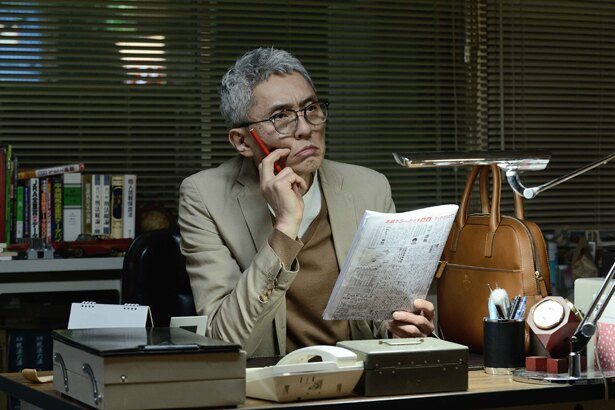 松重豊演じるホープ探偵事務所の所長・木暮正人