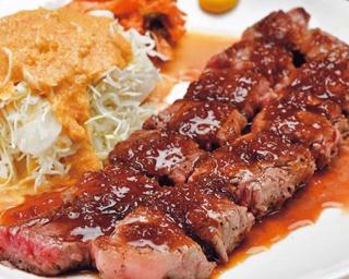 食べ応え抜群のスタミナランチで白ご飯が止まらない!ビジネスマンをトリコにする「道頓堀 あかい 北店」のステーキランチ