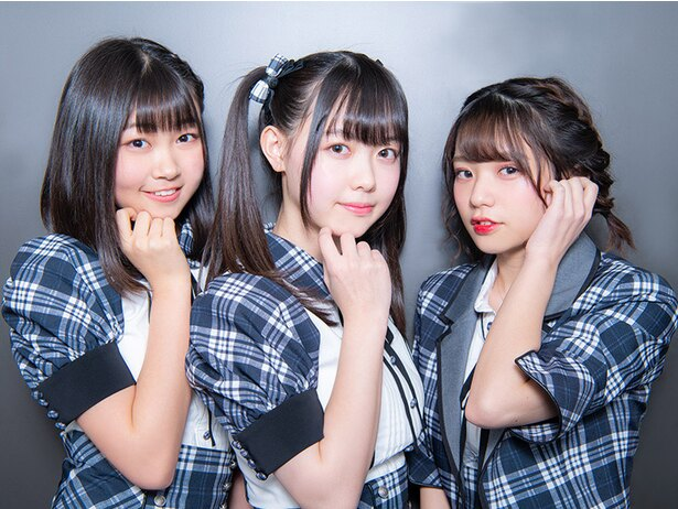 写真左から 小澤愛実、松本ももな、長月翠