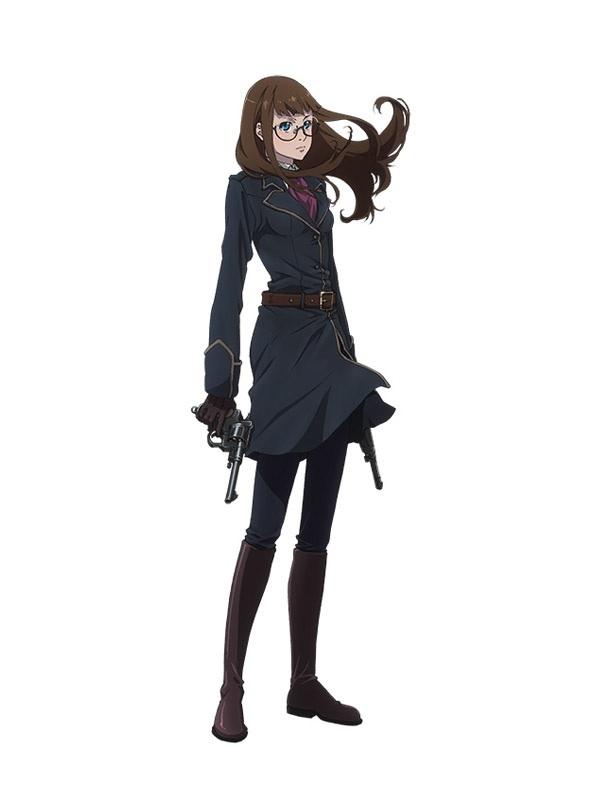 「Fairy gone フェアリーゴーン」のキャラクター、クラーラ・キセナリア(CV:諏訪彩花)。自ら志願して妖精器官移植術を受け、違法妖精取締機関「ドロテア」に入隊する