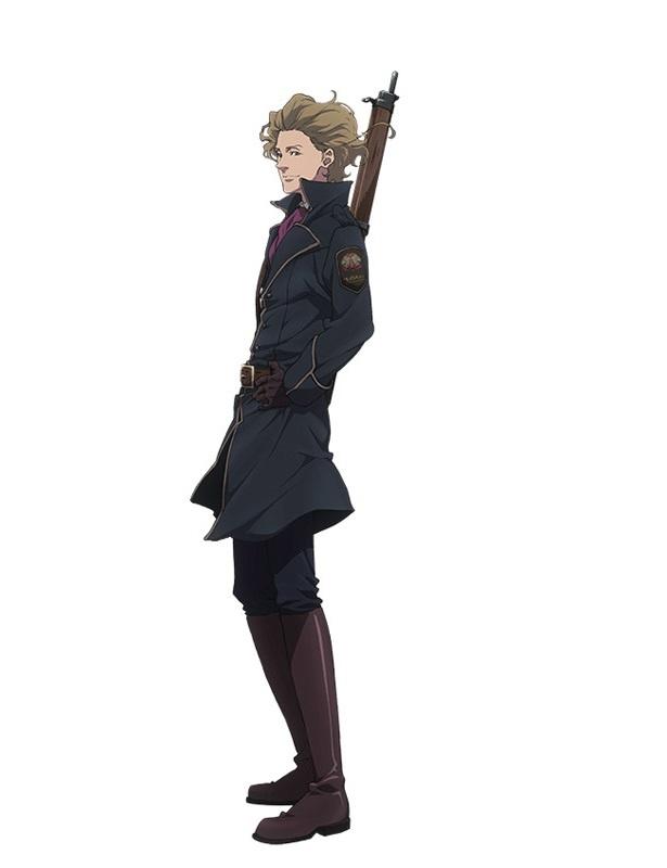 「Fairy gone フェアリーゴーン」のキャラクター、セルジュ・トーヴァ(CV:中島ヨシキ)。違法妖精取締機関「ドロテア」第一部隊隊員