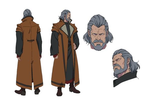 「Fairy gone フェアリーゴーン」のキャラクター、レイ・ドーン(CV:津田英三)。カルオー公。大戦時は「七騎士」の1人として数々の武功をあげた