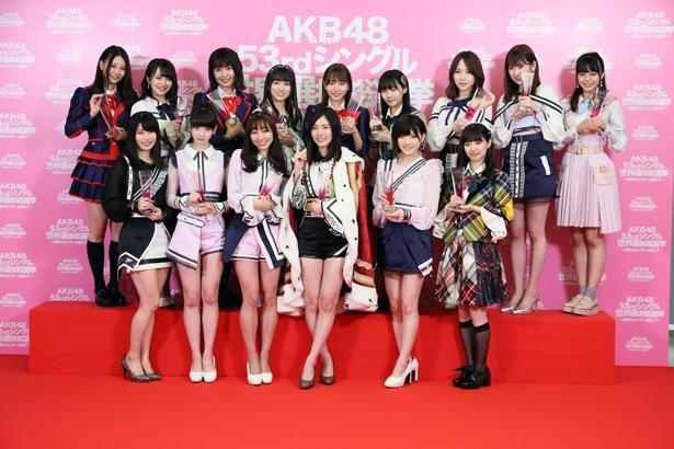 2019年は「AKB48選抜総選挙」が開催されないことが決定(写真は2018年開催)