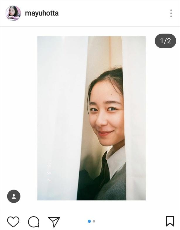 ※画像は堀田真由公式Instagram(mayuhotta)のスクリーンショットです