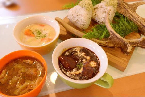 北海道出身の店主が地元の味を再現する「wacca from Hokkaidou」の「エゾ鹿シチュー」(価格未定)