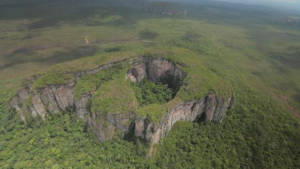 世界遺産・チリビケテ国立公園の貴重映像を2週にわたり放送する