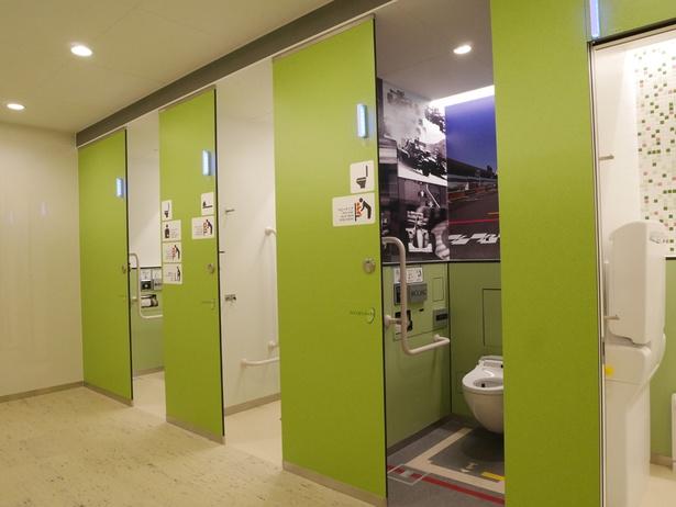 1室だけ、ちょっと変わったトイレを発見