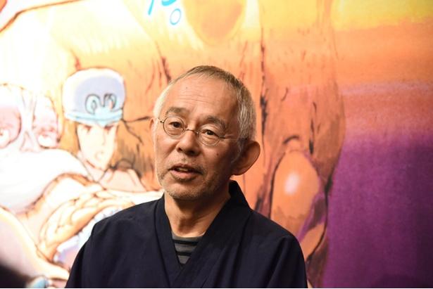 スタジオジブリのプロデューサー、鈴木敏夫氏。「魔女の宅急便」をヒットさせた立役者。その後も多くのヒット作を生み出した