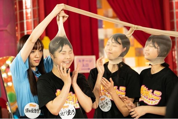 【写真を見る】SKE48北川愛乃、野島樺乃、北野瑠華らがパンスト相撲で本気を見せ過ぎてヤバい…
