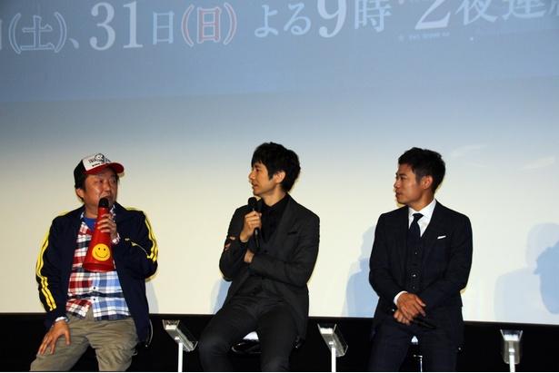 出演者のアドリブに「もう止められない」と木村ひさし監督も困惑したという
