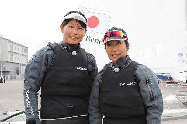 東京オリンピックでメダル獲得が期待されるセーリング・吉田愛選手と吉岡美帆選手