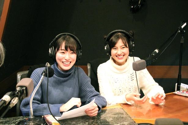 恒松祐里・宮下かな子のツインDJで配信している番組「恒松祐里・宮下かな子Girls&Film」