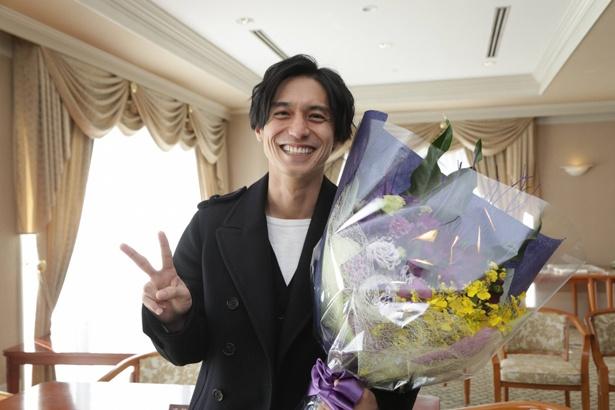 主演ドラマ「トレース~科捜研の男~」のクランクアップを迎えた錦戸亮