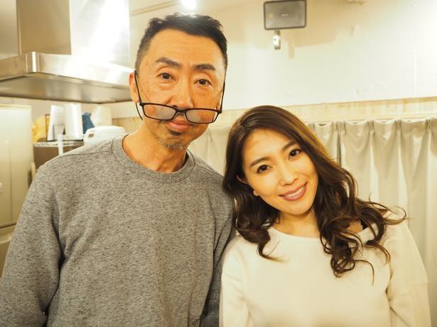 演技の中で、森咲智美を前に高ぶったカンパニー松尾監督は思わず「イク!」と…