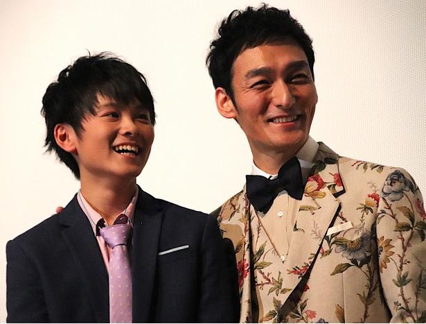 草なぎ剛、息子を演じた山崎光に「卒業おめでとう!」
