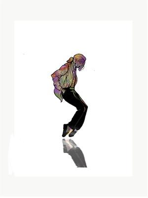 マイケル・ジャクソンのイメージイラスト