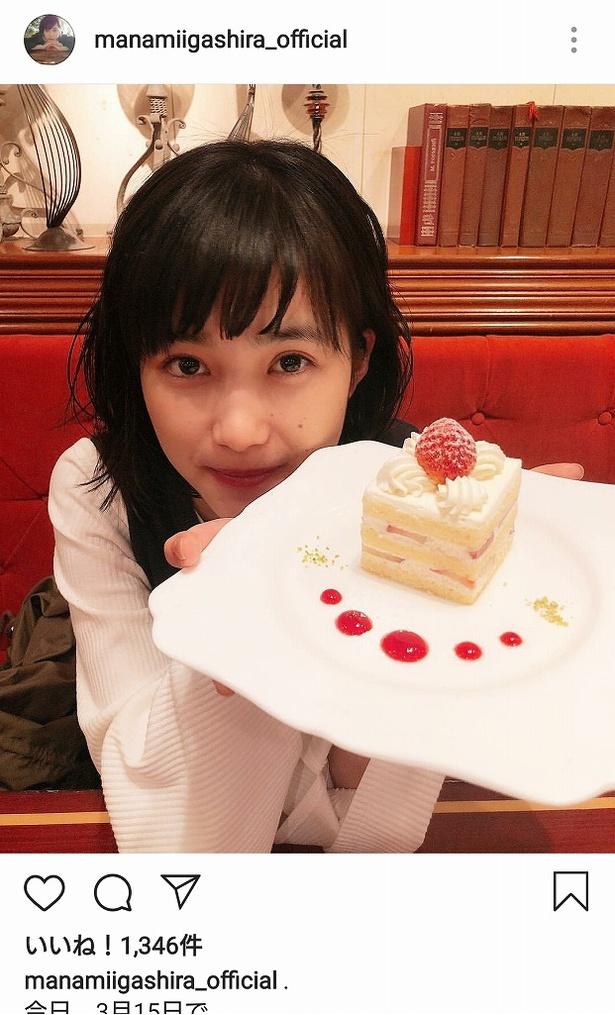 先日誕生日を迎え、18歳になった井頭愛海