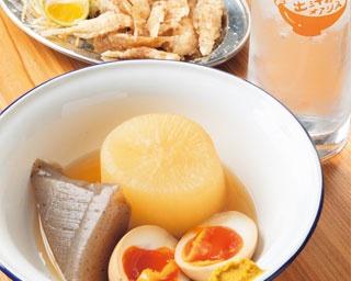 こだわりの出汁が香るそばと関東煮を楽しめる立ち飲み居酒屋「出汁のオアシス」