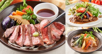 ジョナサンで「ふるさと自慢のお肉に春の彩り野菜を添えて」開催