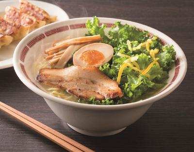 「炙り叉焼と彩り野菜の柚子塩ラーメン」(699円)