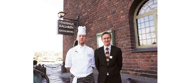 ノーベル賞の公式晩餐会を担当するレストラン「スタッズヒュース・シェレラン」