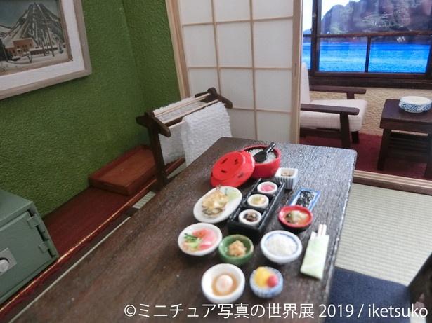【写真を見る】まるで本物みたいな日本の食卓 / iketsuko