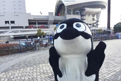 「FUJI XEROX SUPER CUP 2019」が行われた、埼玉スタジアム2○○2をバックにパチリ!