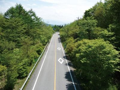 茶臼山高原道路は、茶臼山高原へと続く約14kmの高原道路