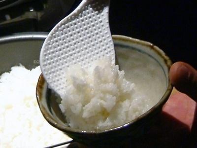 ふっくらご飯は日本人のふるさと。飲み会で疲れた胃にはぴったり!