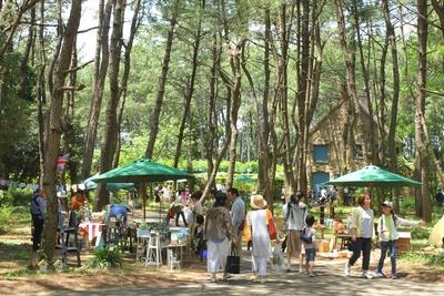 可愛いお店が建ち並ぶグリーン&ガーデンマーケットin英国式庭