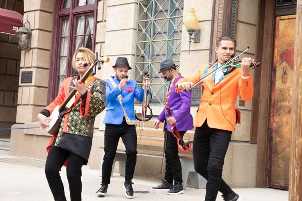 「イースト・ミーツ・ウエスト・カルテット」はバイオリンと三味線の競演が斬新!