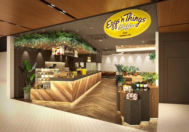 国内2号店目となる「Eggs 'n Things Coffee 柏 高島屋ステーションモール店」