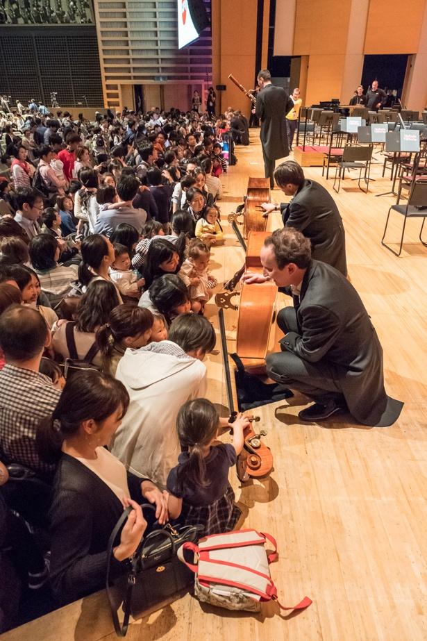 0歳から入場できるコンサートも毎年開催。未就学児にとってこうした機会は他ではなかなかできない貴重なもの(写真は2018年開催時のもの)