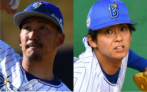 梶谷隆幸選手(左)にかわいがってもらっていると言う寺田光輝選手