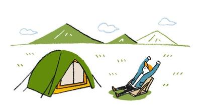 涼しい高地のキャンプ場で、猛暑と虫刺されの悩みからちょっぴり解放!